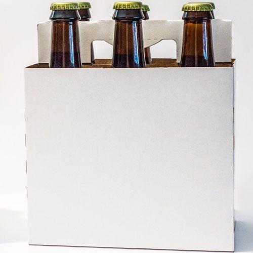 Plain 6 Pack Bottle Carriers