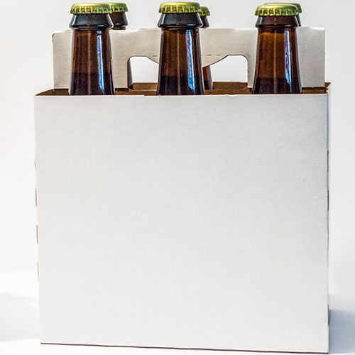 Blank 6 Pack Bottle Carriers-Case (s)